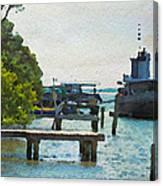 Intracoastal Ship Canvas Print