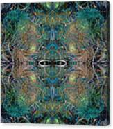 Intrigue Of Mystery Four Of Four Canvas Print