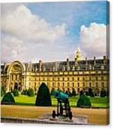 Invalides Paris France Canvas Print