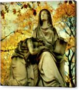 Invasion Of Autumn Canvas Print