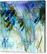 Inverted Light Abstraction Canvas Print