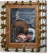 Invidious Tree In Opera Gloves - Framed Canvas Print