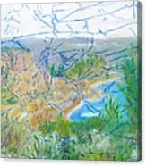 Invisible World Over Landscape Canvas Print