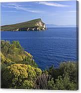 Ionian Sea Coast Albania Canvas Print