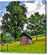 Iotla Valley  Canvas Print