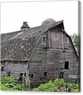 Iowa Barn 7414 Canvas Print