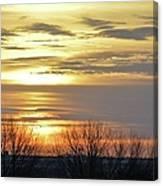 Iowa Sunrise Panorama Canvas Print