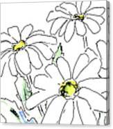iPhone-Case-Flower-Daisy2 Canvas Print