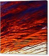 iPhone Southwestern Skies Canvas Print