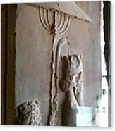 Iran Ancient Umbrella Canvas Print