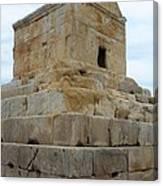 Iran Cyrus Tomb Pasargadae Canvas Print