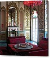 Iran Golestan Palace Interior  Canvas Print
