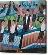 Iran House Of Strength Yazd Canvas Print