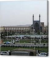 Iran Isfahan Landmarks Canvas Print