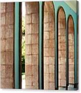Iran Saadi Monument Shiraz Canvas Print