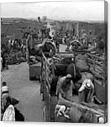Iraq Al Manshiyya Evacuation 1948 Canvas Print