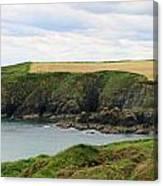 Ireland Coast Panorama Canvas Print