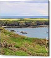 Ireland Coastline Panorama Canvas Print