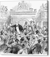 Ireland Election, 1857 Canvas Print