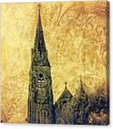 Ireland St. Brendan's Cathedral Spire Canvas Print