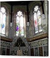 Ireland St. Brendan's Cathedral Stained Glass Canvas Print