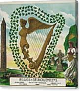 Irelands Historical Emblems Canvas Print