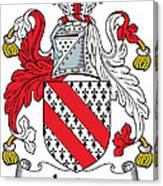 Ireton Coat Of Arms Irish Canvas Print