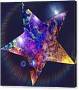 Iridescent Star Canvas Print