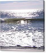 Iridescent Waves Canvas Print