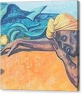 Irie Jamaica Market Spirit  Canvas Print