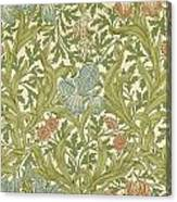 Iris Pattern Canvas Print