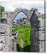 Irish Church Ruins Canvas Print