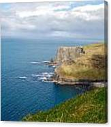 Irish Cliffs Canvas Print