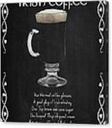 Irish Coffee Canvas Print
