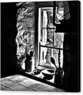 Irish Cottage Window Canvas Print