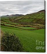 Irish Countryside Hdr Canvas Print