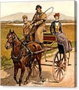 Irish Jaunting Car Canvas Print