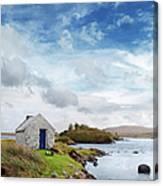 Irish Landscape In Connemara Canvas Print