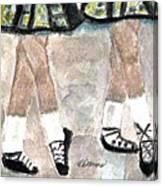 Irish Lasses Canvas Print