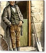 Irish Peasant Farmer Canvas Print