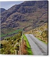 Irish Road Canvas Print