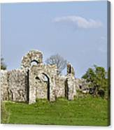 Irish Ruins Canvas Print