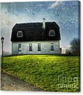 Irish Thatched Roofed Home Canvas Print