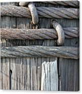 Iron And Wood Canvas Print