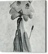 Iron Cat Canvas Print