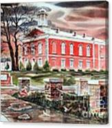 Iron County Courthouse No W102 Canvas Print