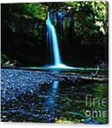Iron Creek Falls Canvas Print
