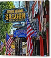 Iron Door Saloon - The Oldest Saloon In California Canvas Print