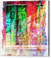 Iron Doors II Canvas Print