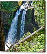 Iron Falls Canvas Print